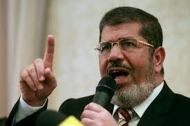 Le président égyptien Mohamed Morsi.
