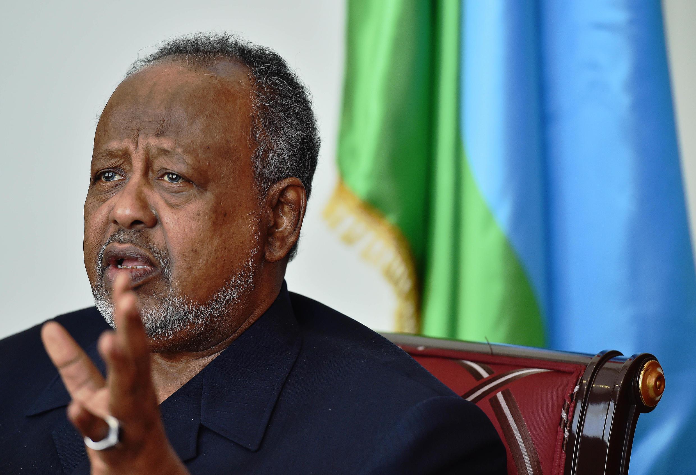 Ismail Omar Guelleh, président de Djibouti depuis 1999.