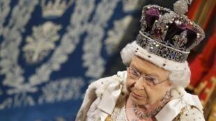 La reine Elizabeth II, le 27 mai 2015 dernier à Londres.