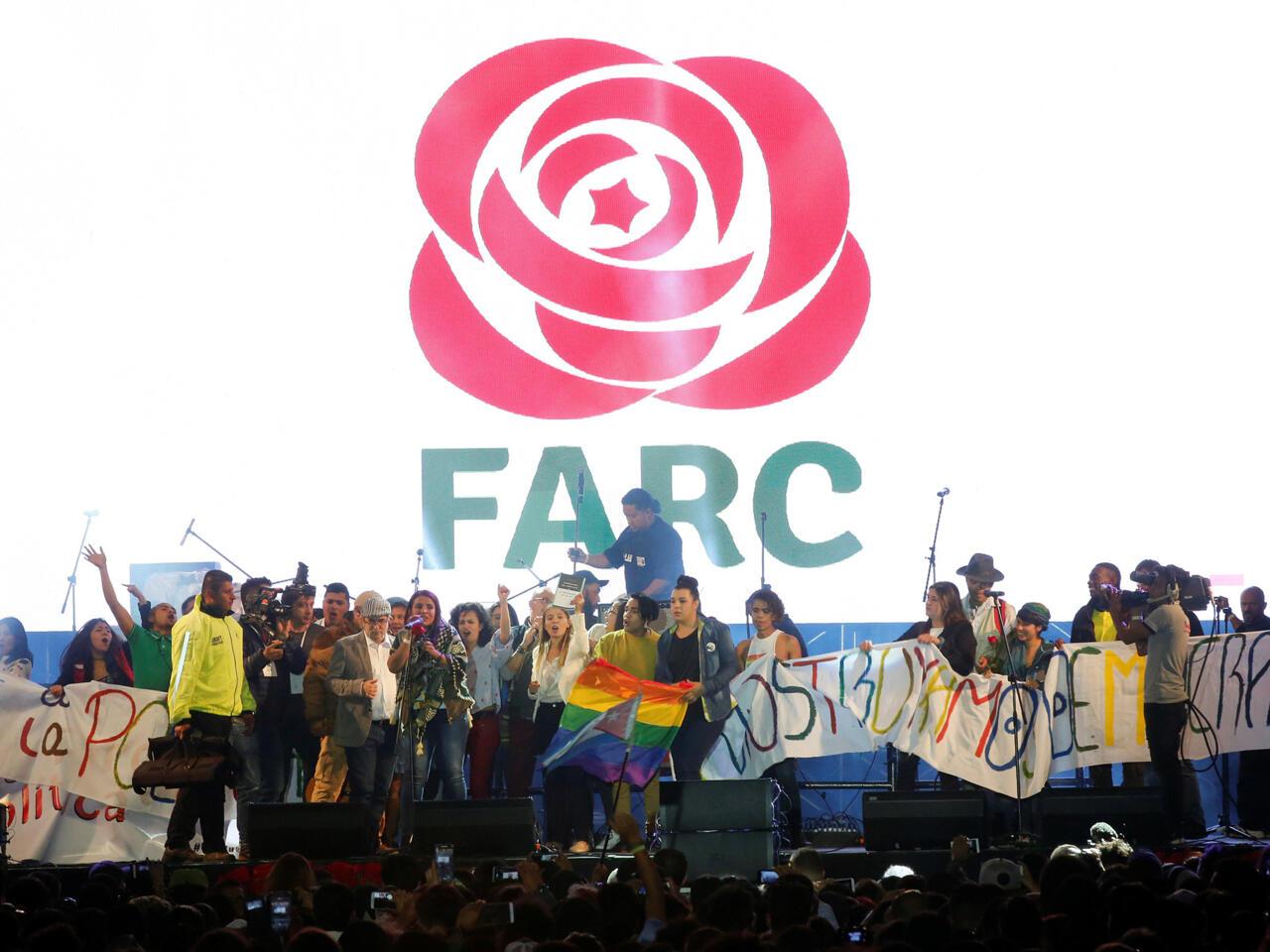 Las FARC se convierten en partido político