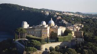 Le palais pontifical de Castel Gandolfo.