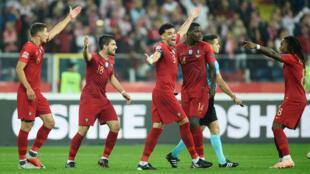 A Selecção Portuguesa acabou por derrotar por 2-3 a Polónia num jogo a contar para a Liga das Nações.