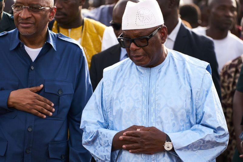 Shugaban Mali, Ibrahim Boubacar Keita, na jagorantar taron sulhunta 'yan kasar