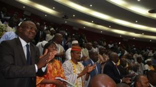 Cérémonie d'investiture de la nouvelle assemblée burkinabè, VIIème législature (2015-2020)