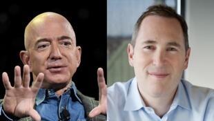 Photomontage RFI Jeff Bezos et Andy Jassy