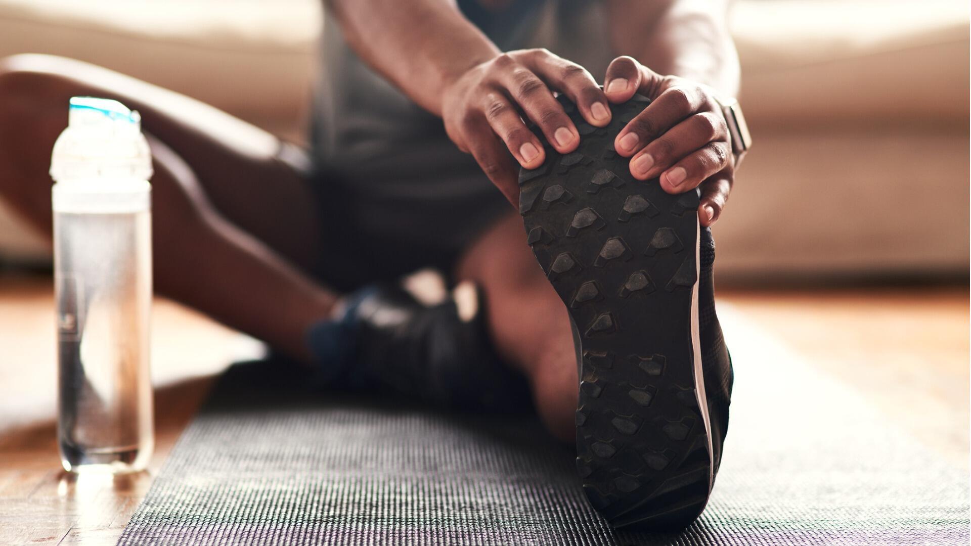 étirement illustration sport yoga