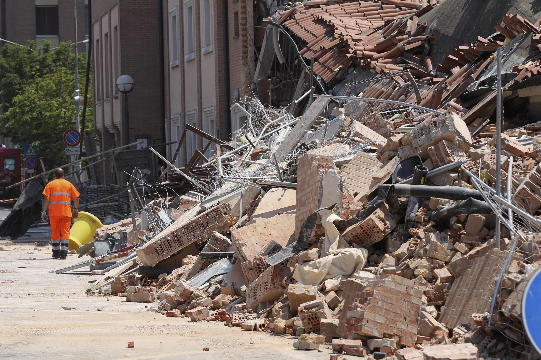 Novo terremoto desta terça-feira na região de Modena, na Itália, deixou ao menos 10 mortos.
