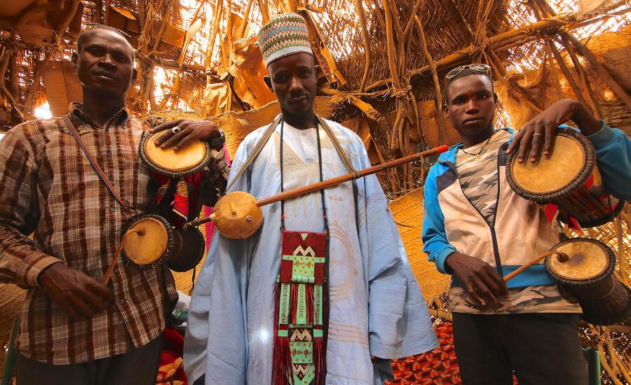 Wasu makadan Hausawa a Najeriya.