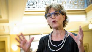 "Agnès Callamard, baɲumakɛtɔn ""Amnesty international"" ɲɛmɔgɔ kura."