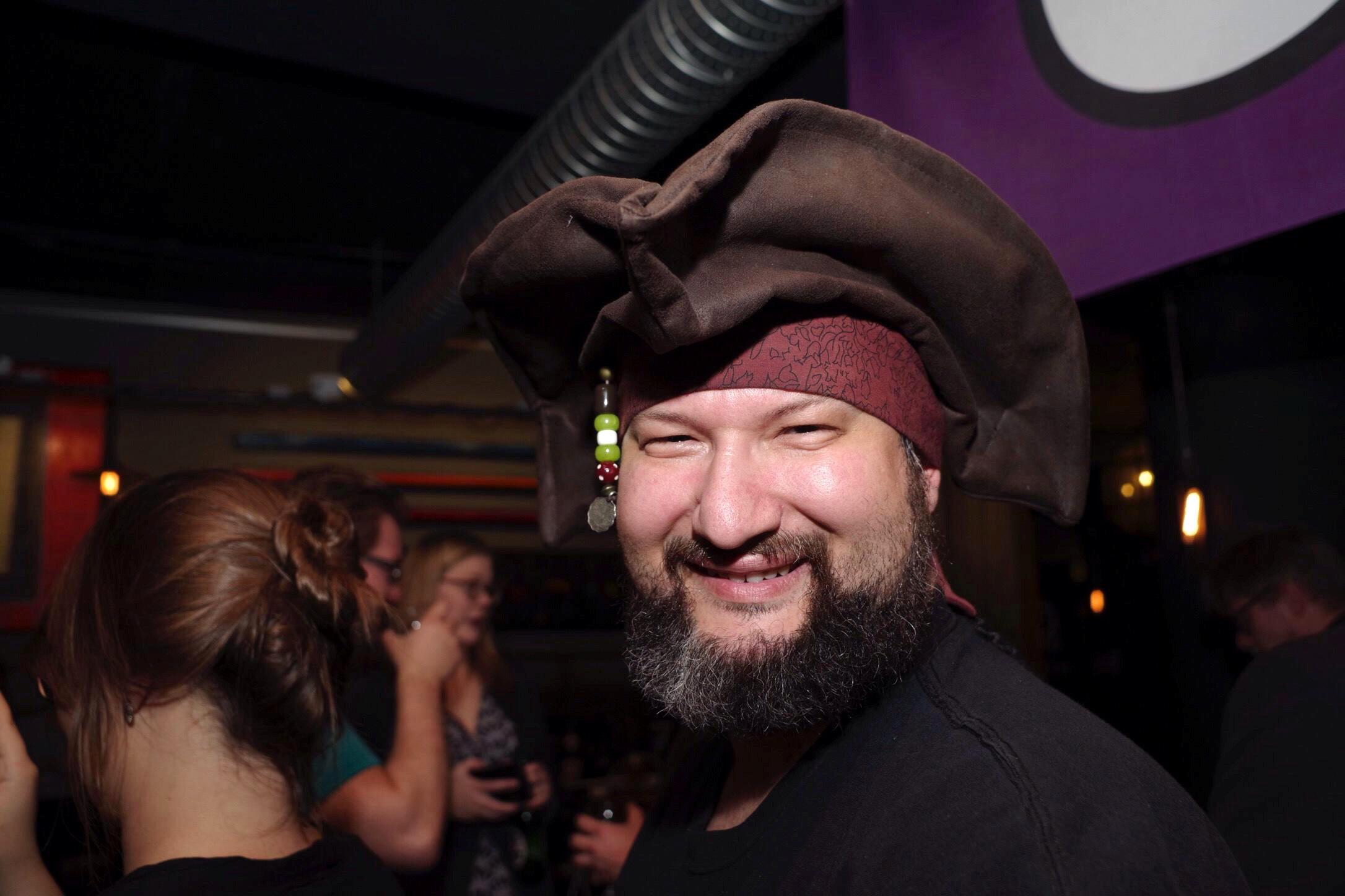 Сторонник Пиратской партии, Исландия, 29 октября 2016 г.