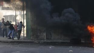 Des violences ont eu lieu, mardi 23 septembre, à Hébron entre des groupes de jeunes et les forces israéliennes.