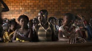 Ecole à Bangui.