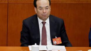 Cựu bí thư Trùng Khánh Tôn Chính Tài. Ảnh chụp ngày 05/03/2017.