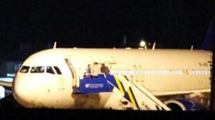 L'escale forcée à Ankara aura duré neuf heures pour l'Airbus A 320 syrien.