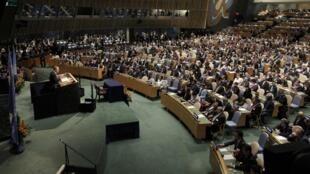 À l'ONU, le droit de vote est suspendu à tout pays qui n'a pas payé sa cotisation depuis deux ans.