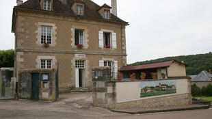 Council offices in Marmeaux, in the Yonne department