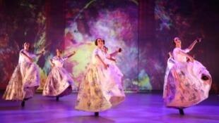 Escena del espectáculo Sorolla. Coreografía de Antonio Najarro, director del Ballet nacional de España.