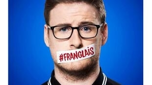 Comedian Paul Taylor has a successful show using franglais.