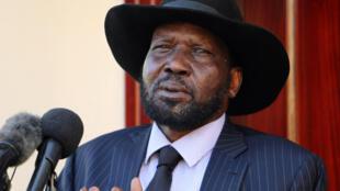 Shugaban Kasar Sudan ta Kudu Salva Kiir