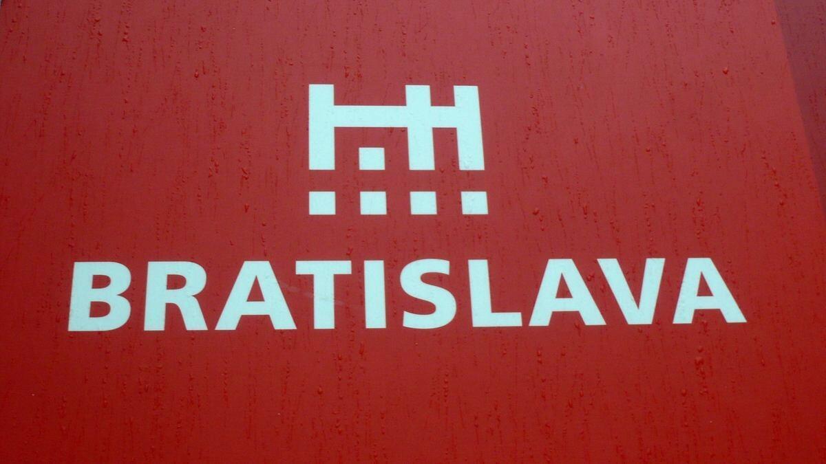 Vignette de Bratislava, capitale de la Slovaquie.