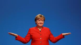 A imprensa francesa acredita na vitória de Angela Merkel nas eleições legislativas de Domingo, na Alemanha
