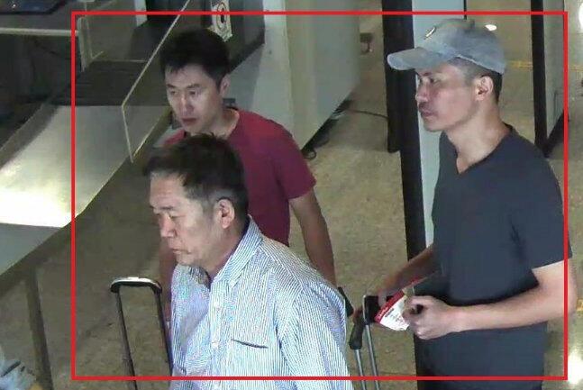 Ba trong số 4 nghi can trong vụ ám sát Kim Jong Nam được Malaysia xác định đã bỏ trốn. Ảnh do cảnh sát Malaysia cung cấp ngày 19/02/2017.