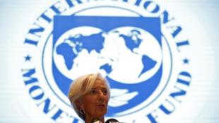 A diretora do Fundo Monetário Internacional Christine Lagarde.