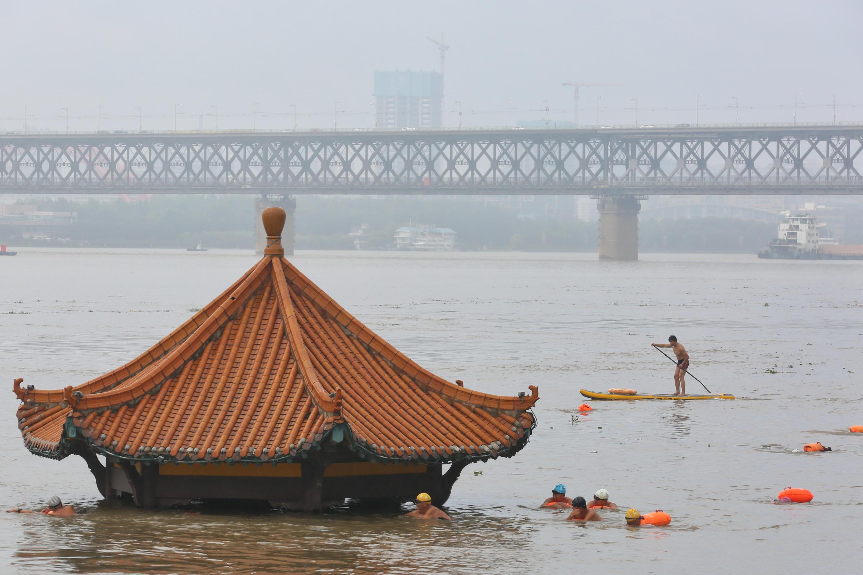 7月8日遭遇大水的武漢