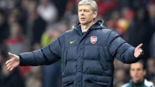 Meneja wa klabu ya Arsenal, Arsène Wenger