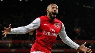 Mwaka 2012, Thierry Henry alirejea Arsenal kwa mkopo na kufunga mara mbili.