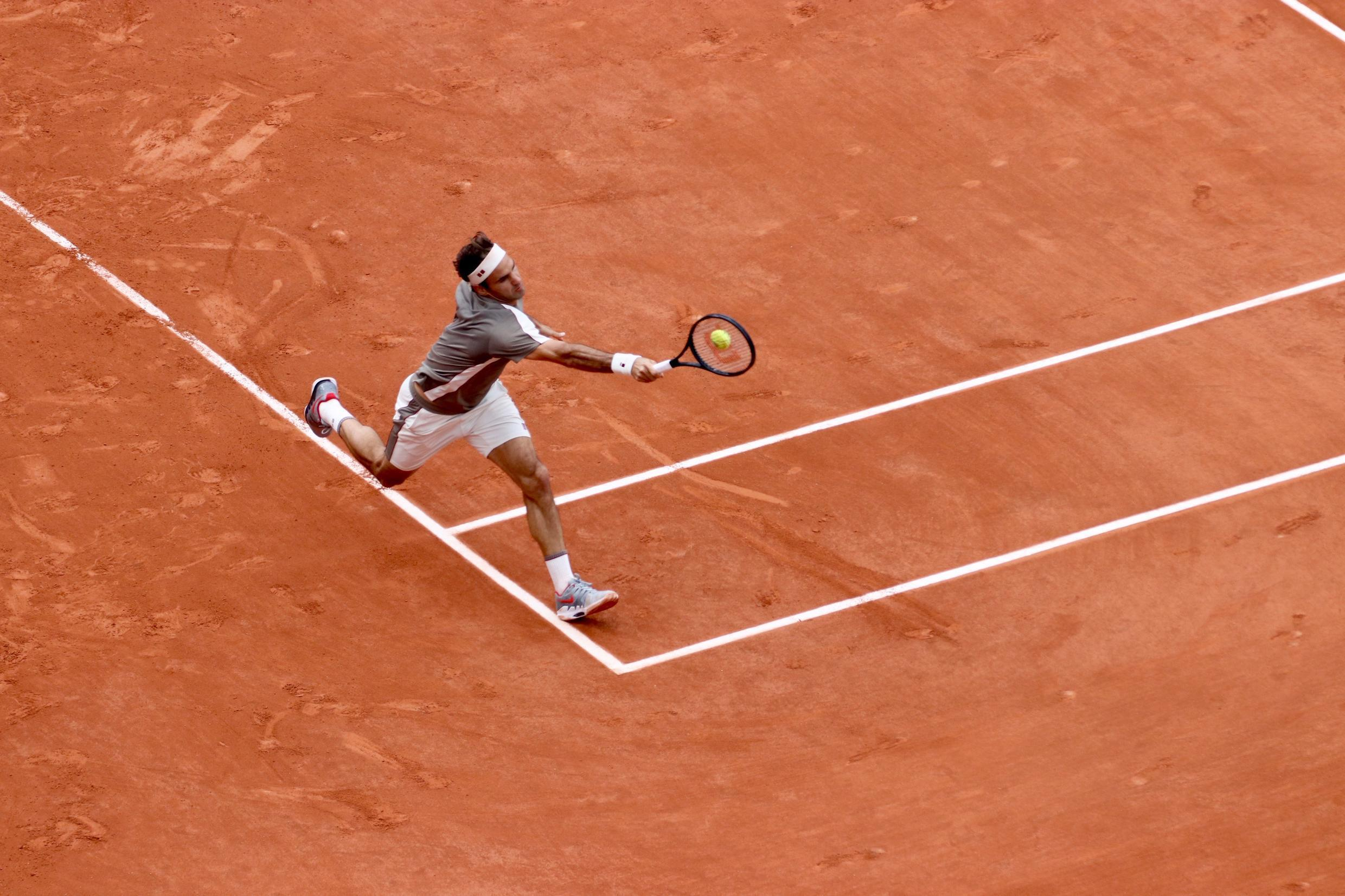 Roger Federer last played at the French Open in 2015.