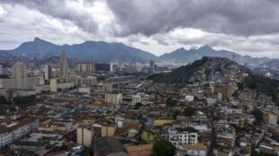 Vue du centre de Rio de Janeiro