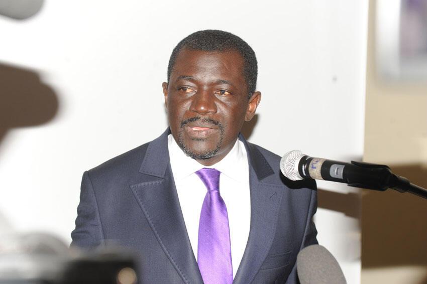 Nicaise Moulombi, président du réseau des organisations de la société civile pour l'économie verte en Afrique Centrale.