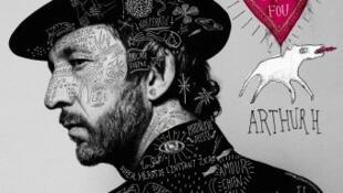 Tapa del nuevo disco de Arthur H 'Chien fou amoureux', 2018.