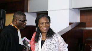 Simone Gbagbo (Kulia) mke wa rais wa zamani wa Ivory Coast Laurent Gbagbo