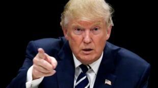 El presidente electo Donald Trump el 28 de octubre de 2016.