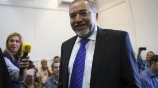 Beitenu leader Avigdor Lieberman