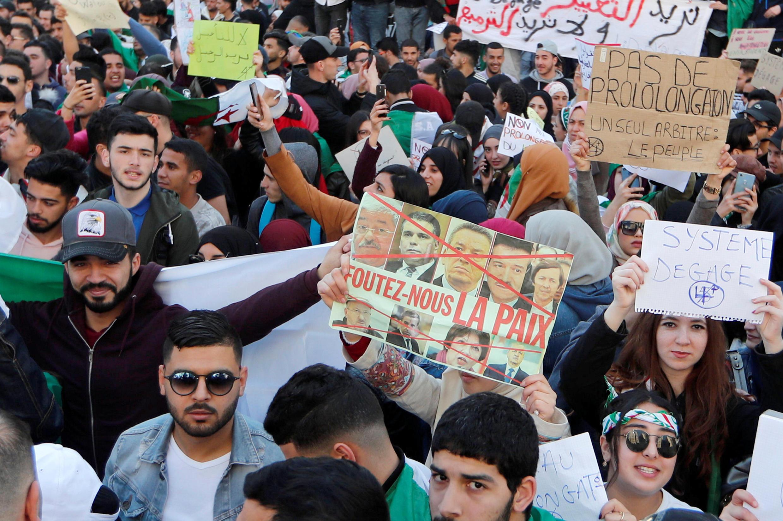 Manifestación en Argel, este 12 de marzo de 2019.
