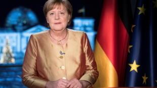 德國總理默克爾資料圖片