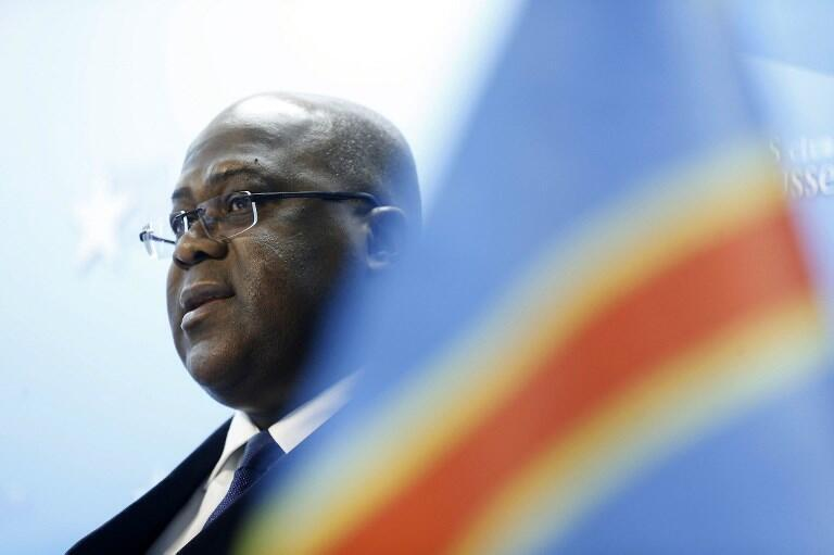 Rais Mteule wa DRC Felix Tshisekedi Tshilombo.