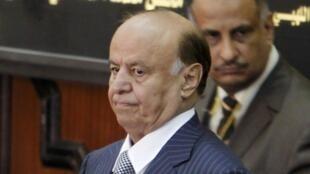 Rais Abd Rabbo Mansour Hadi, ambaye amekimbilia nchini Saudi Arabia.