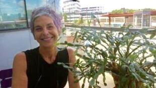 A artista francesa radicada em São Paulo, Isabelle Ribot