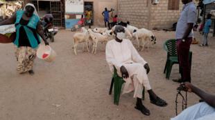 (illustration) Le Sénégal en temps de Covid-19, à Ouakam, dans la banlieue de Dakar.