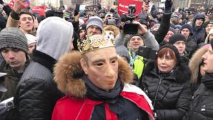 «Забастовка избирателей» Алексея Навального. Москва. 28 января 2018 г.