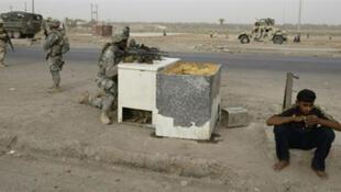 Dans la province de Diyala, la plus dangereuse du pays, l'armée irakienne est soutenue par l'armée américaine, dans sa lutte contre al-Qaida.