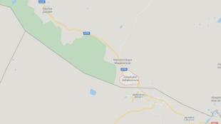 俄羅斯遠東邊境城市後貝加爾斯克(Zabaikalask)