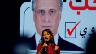 Salwa Karui, esposa de Nabil Karui, um magnata das comunicações e dono do canal de TV Nesma é investigado por lavagem de dinheiro e foi preso em agosto.
