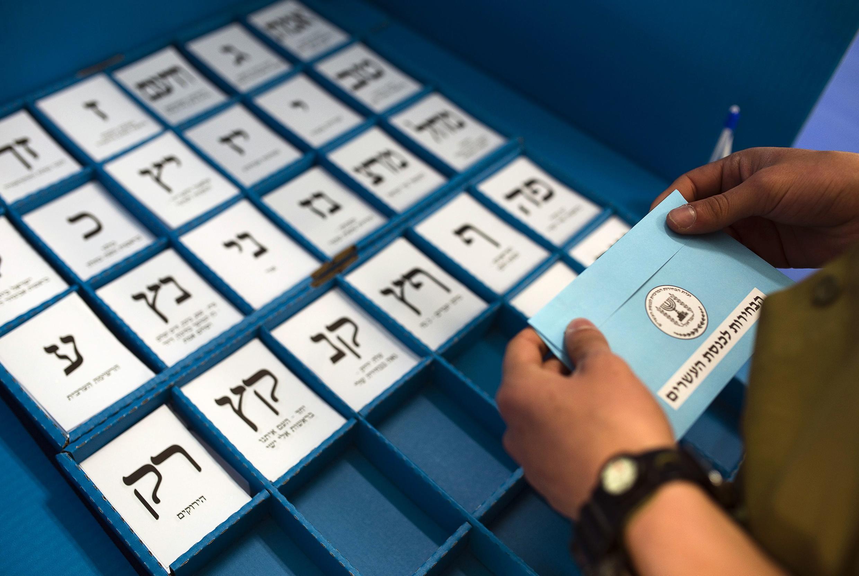 Eleições legislativas israelitas, esta terça-feira, 18 de março de 2015.