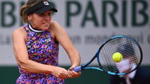 L'Américaine Sofia Kenin éliminée par la Grecque Maria Sakkari, en 8 e à Roland-Garros, le 7 juin 2021