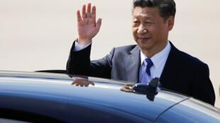 ورود شی جین پینگ رئیس جمهوری چین به هامبورگ